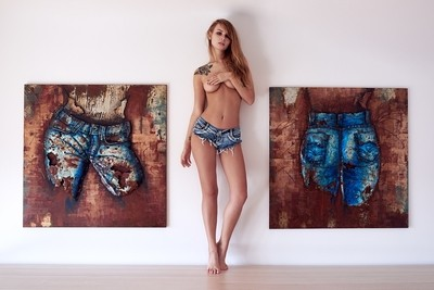 Artwork with Anastasiya Scheglova