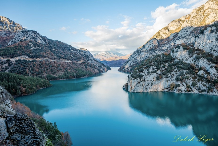 HDR lake from spain