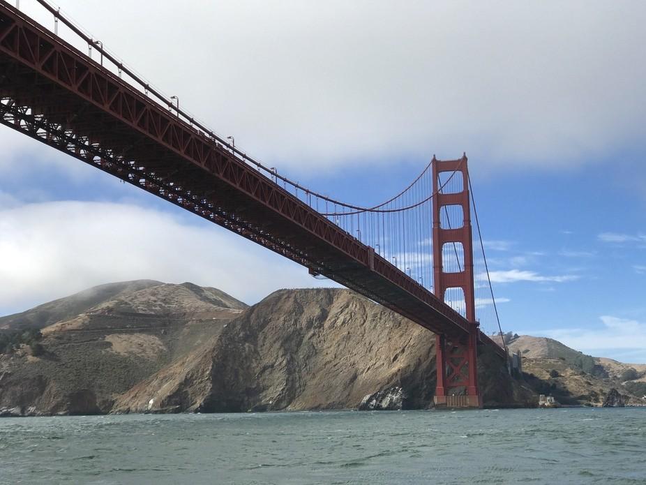 From a recent trip to San Francisco. I was on a moving boat when I captured this image. It's on...