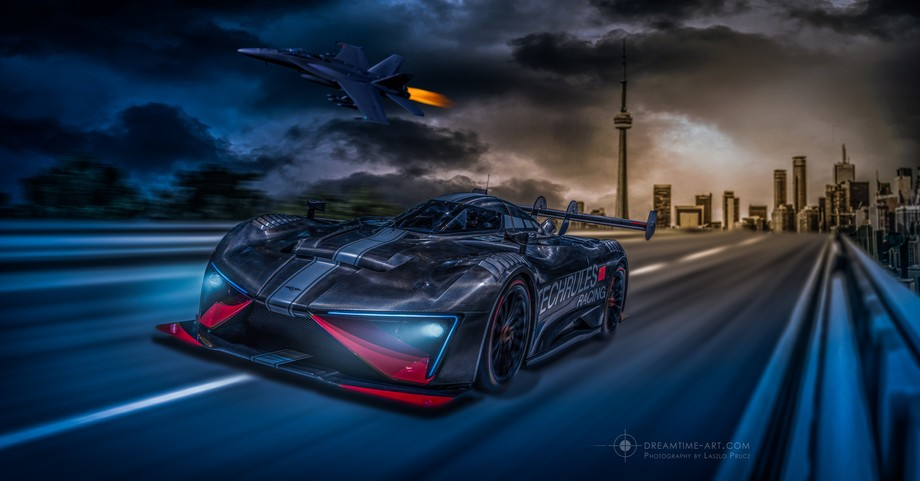 This is the latest composing of me. I shoot this car in Autosalon Geneva this year. The rest is o...