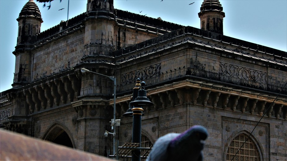 Mumbai gateway - old colonial architecture. Although needing much rehabilitation and restoration ...