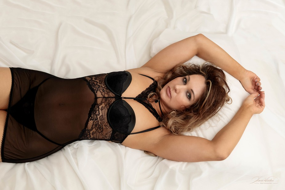 Lace Lingerie photoshoot with Dasa