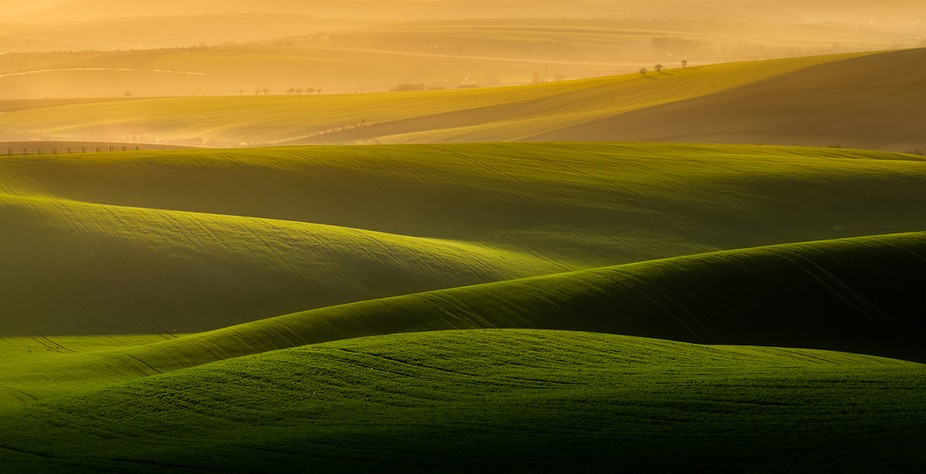 South moravian region in Czech republic is full of sights like this. This location is called Karl...