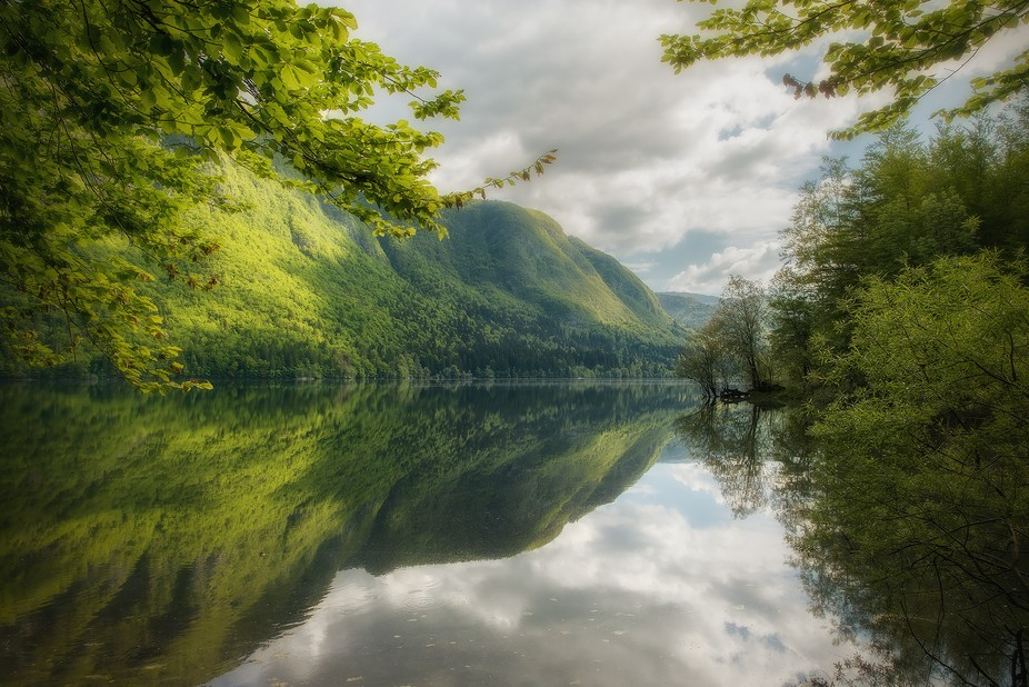 Slovenia in may is a place to recommend. Lush greens, lonesome places, blue rivers. A photographe...