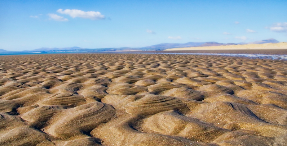 Sandy Landscape in North Wales